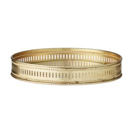 Taca okrągła BETHIA gold fi 25