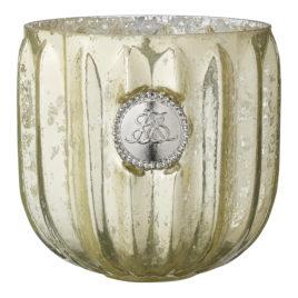 Świecznik DANTE light gold 9 cm