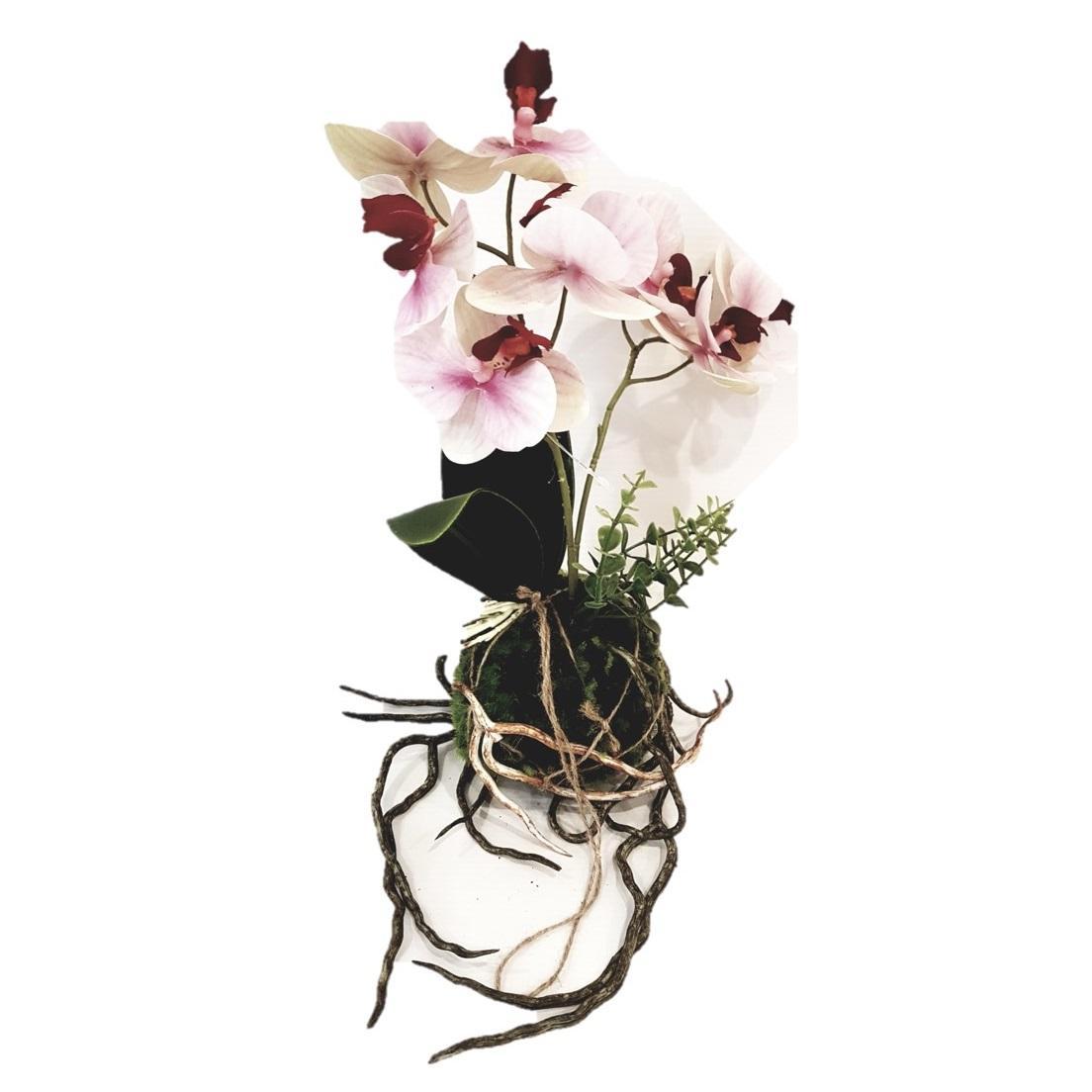 Kwiat Sztuczny Storczyk Kula